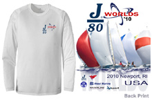 J80 Worlds LS Spinnaker Tee