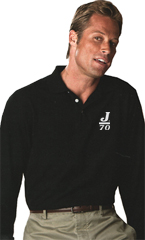 J Long Sleeve Polo