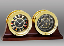 Chelsea Carbon Fiber Clock Set